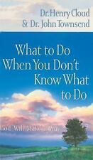 What to Do When You Don't Know What to Do-ExLibrary