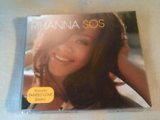 RIHANNA - SOS - 2 TRACK UK CD SINGLE