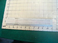 vintage SLIDE RULE: STERLING SLIDE RULE precision 3-BRIDGE