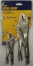 Irwin Tools 37 2 Pc Original Locking Pliers Set Contains 1-10WR and 5WR USA