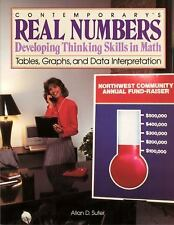 Real Numbers: Tables, Graphs, Data Interpretation by Contemporary