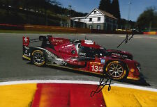 Kraihamer, Imperatori Hand Signed Rebellion Racing 12x8 Photo Le Mans 2016 2.