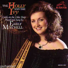 Emily Mitchell Holly And The Ivy Christmas CD Celtic Harp Carols RCA Victor 1989