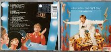 ELTON JOHN CD One night only GREATEST HITS Live 2000 RONAN KEATING BRYAN ADAMS