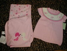 NWT Vintage Gymboree RARE HTF OODLES OF POODLES BLANKET & Sweater lot WOW!!!