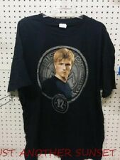 Hunger Games Peeta District 12 Stone Seal Mockingjay Catching Fire T Shirt NEW