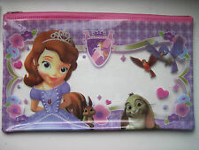 KIDS PENCIL CASE  DISNEY SOFIA THE FIRST  NEW.