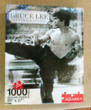 "BRUCE LEE ""Affirmations"" 1000 Piece Jigsaw Puzzle - 20""x 27"" FREE POST"