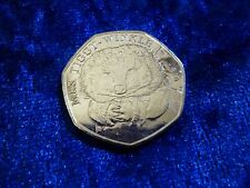 Mrs Tiggywinkle 50p Fifty Pence Beatrix Potter From Mint Bag BUY 3 GET 4TH FREE