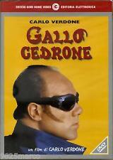 """DVD """" GALLO CEDRONE """"  C. VERDONE"""