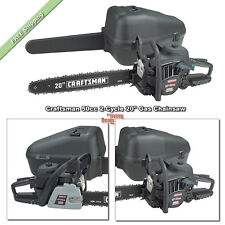 Gas Chainsaw 20 inch Craftsman Chainsaws 50cc 2-Cycle Yard Landscaping Tools Saw