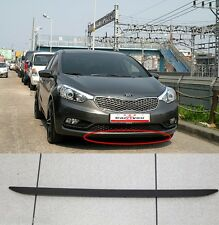 Front Bumper Lower Deflector Lip Assy for Kia Forte Cerato K3 2014 2015+