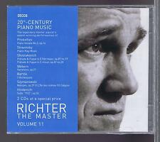 RICHTER 2  CDs NEW 20TH CENTURY PIANO MUSIC VOL 11