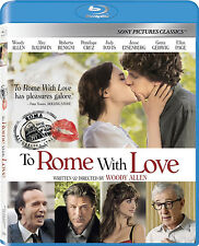 To Rome With Love Blu-ray NEW