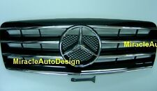 FRONT GRILLE (BLACK) ASSEMBLY FOR 1991-1998 MERCEDES BENZ W140 S-CLASS