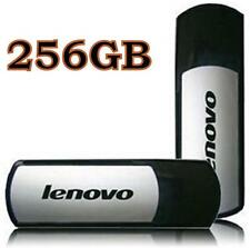 256gb USB 2.0 LENOVO t180 Flash Drive Chiavetta Memory Stick. * UK VENDITORE **