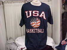 "Official USA Basketball Team Issued ""Takes On The World"" S/S T-shirt Size- XL"
