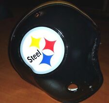 "Pittsburgh Steelers ""STEEL"" LOGO Vintage MacGregor Football Helmet"