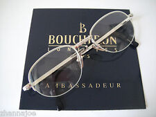 Boucheron France 51-20 Quatre White Gold filled Eyeglass Frame Mens EU Cartier