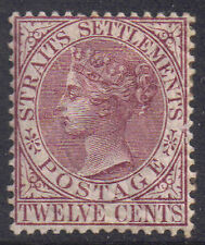 Malaysia-Straits Settlements 1883 12c Brown-purple SG 67 Mint hinged