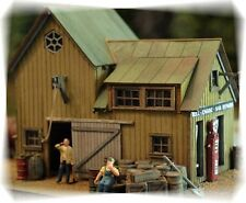 Bar Mills Staton Marine Laser-Cut Wood Structure Kit #402 HO Scale
