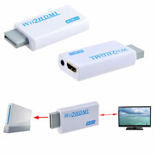 Plug and play WiFi to HDMI 480p Converter Adapter Wii2hdmi 3.5mm Audio Box Wii-l
