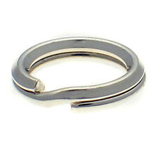 10 Sterling 925 British Silver 8mm Split Link Charm Rings for Bracelets & Repair