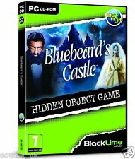 Bluebeard's Castle (PC CD) Hidden Object Game Mystery Puzzle NEW SEALED
