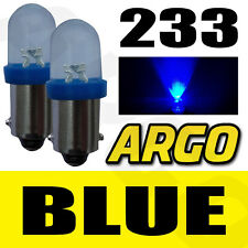 2X 233 BA9S T4W XENON LED BLUE  NUMBER PLATE BULBS AUDI 80