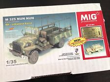 Mig Production 1/35 Lebanese Forces IDF Nun-Nun M325 Command Car (Early) 35-291