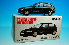 TOMYTEC TOMICA LIMITED VINTAGE NEO LV-N48e Honda CIVIC SiR-S Green 1/64 New!!