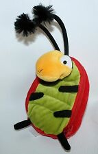 Hallmark LADYBUG  zipper plush Coin Purse trinket pouch Lovey Stuffed Animal