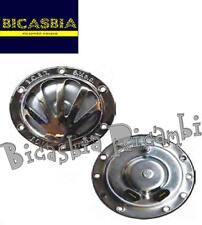 8028 - CLACSON CLAXON CROMATO VESPA 150 VBA1T VBB1T GL CON BATTERIA