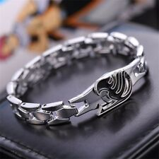 Hot Anime Fairy Tail Rotary Guild Pendant Metal Bracelet Cosplay Costume Play