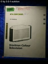 Sony Bedienungsanleitung KV 29FC60D Color TV (#1680)