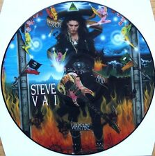 STEVE VAI PASSION AND WARFARE VINYL LP PICTURE PIC DISC