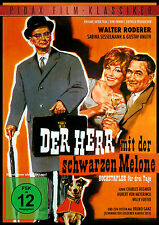 Der Herr mit der schwarzen Melone * DVD Gauner Komödie Pidax Film Neu Ovp