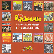 THE PSYCHEDELIC sixties music french EP collection BOX 14 CD