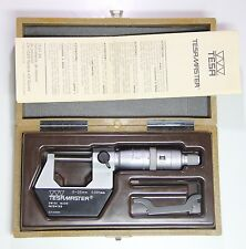 TESA  Precision Outside Digital Micrometer, 0-25mm, 0.001mm, +/-0.004mm