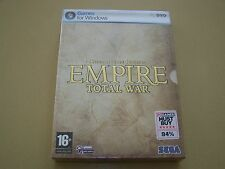 Empire Total War Special Forces Edition **New and Sealed** PC.