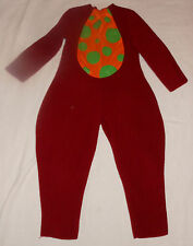 Too Cute To Spook Lil Monsters Dots Toddler Jumpsuit Halloween Costume - 3T 4T