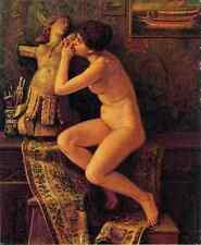 Vedder Elihu The Venetian Model A4 Print