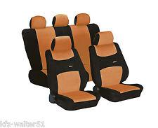 Für Audi A4 ab 11/2007 Schonbezug Sitzbezüge Sitzbezug Colori orange schwarz