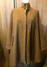 DAMO DONNA  Cape Poncho  Wool And Cashmere   ONE SIZE