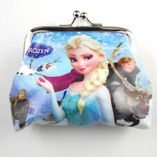 HOT 1pcs Frozen Elsa Children Coin Purse Wallet Hasp package Party Gifts  YU-1