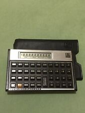 Vintage HP-10C Scientific Calculator + Case Manual
