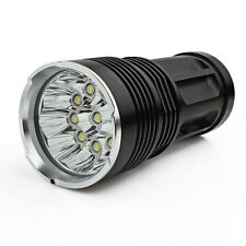 SKYRAY 10 x CREE XM-L T6 LED 25000LM Torch Hunting Lamp 4 x 18650 Flashlight