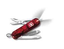 Victorinox Schweizer Taschenmesser Signature Lite Rubin mit Gravur LED Lampe