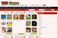 Entertaining Games Website Free Installation + Hosting
