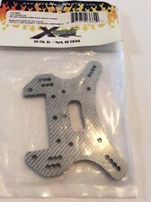 XTREME RACING HOT BODIES D8 CARBON FIBER REAR SHOCK TOWER XTR12106S 1/8 NITRO